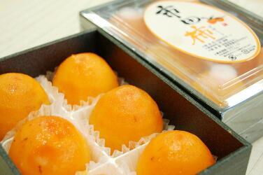 特産市田柿デザート