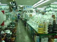 韓国の業務用卸店1