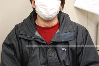 謎のマスク男