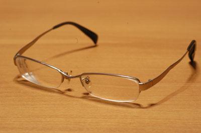 サングラスっぽいメガネ