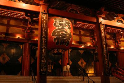 夜の浅草寺5