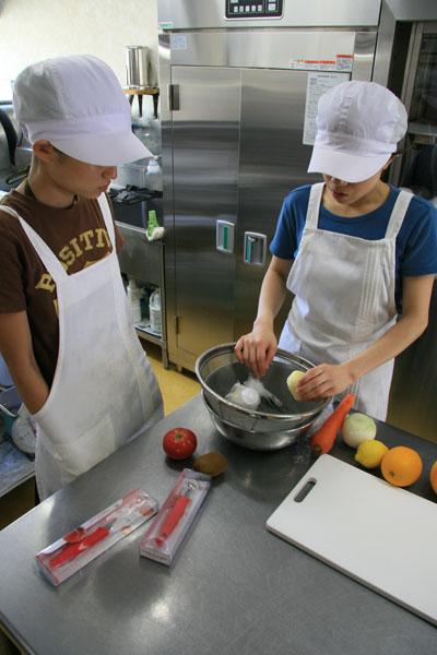 めぐみ保育園の厨房スタッフ