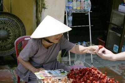 ベトナムのおばちゃん