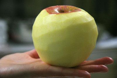 丸いリンゴ