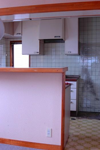 キッチンのリフォーム前